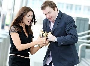 Jennifer Maguire & Bernard O'Shea to MC Spider Awards