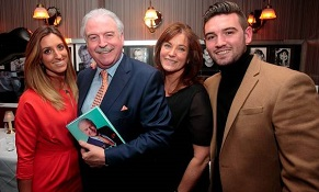 A big congratulations to Marty Whelan as he launches new book