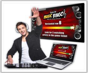 Online Music Bingo