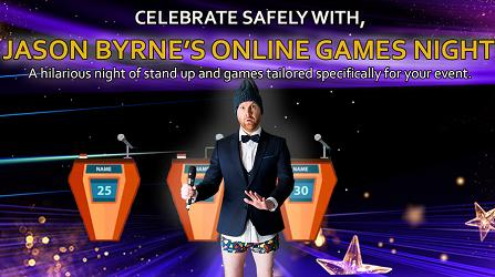 Jason Byrne's Virtual Games Night